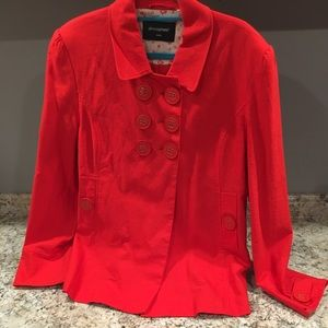 Red coat Sz 16 US stunning by Atmosphere